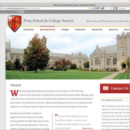 PS&CS Website