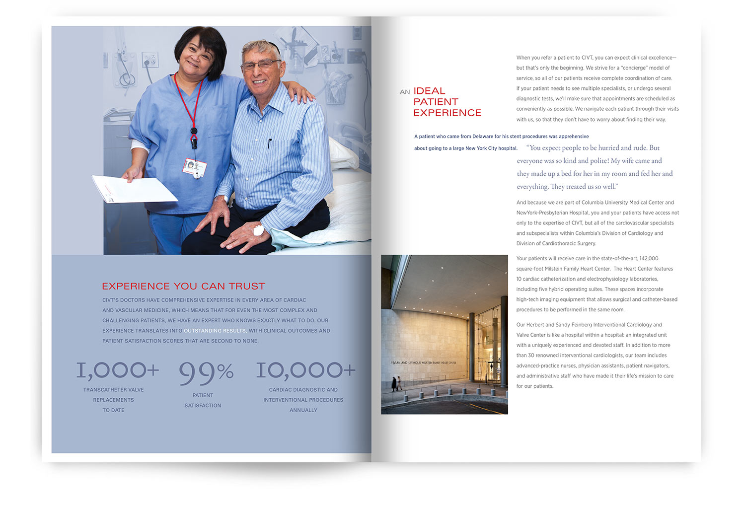 Columbia Cardiology Brochure | hgDesign NYC