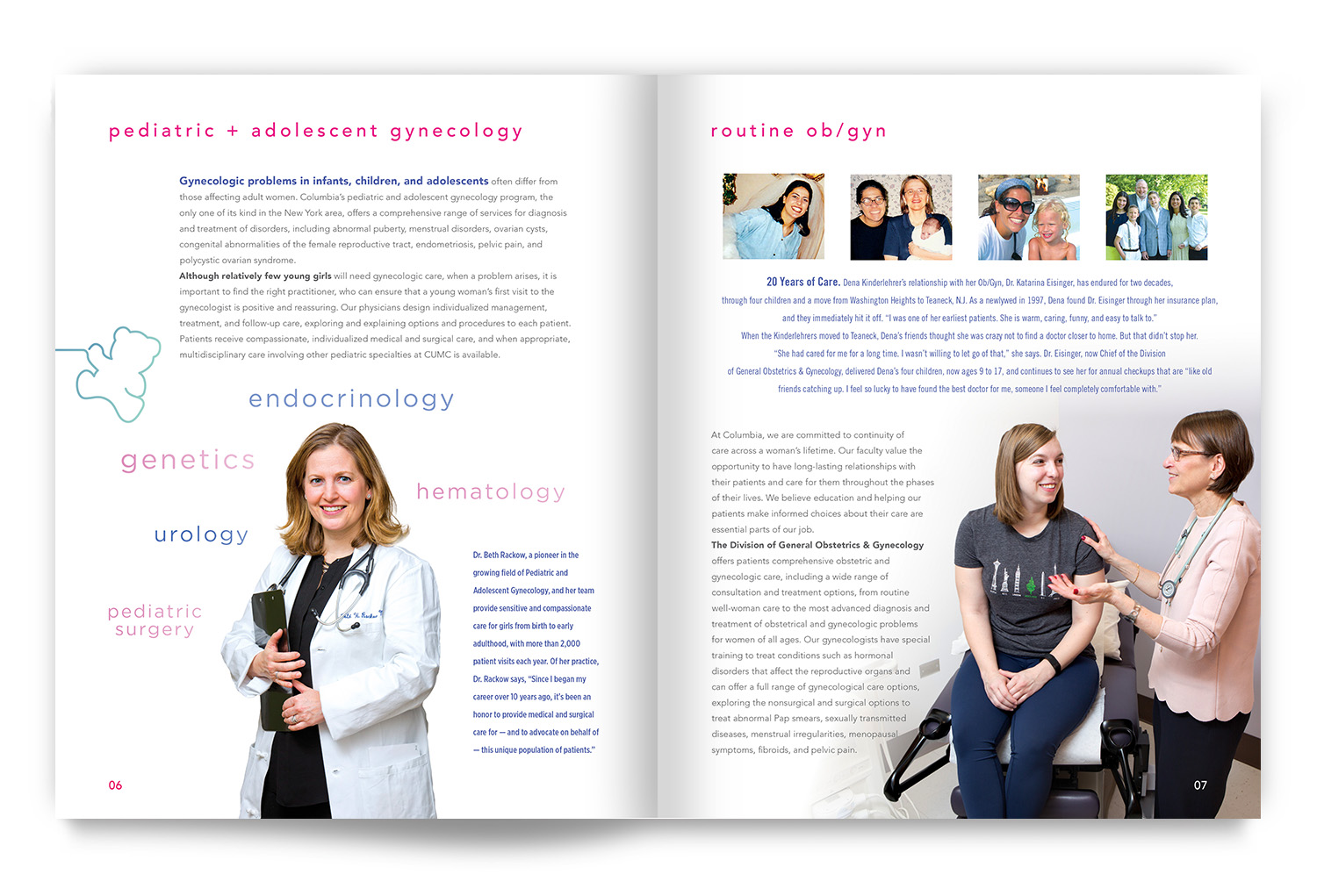 Columbia Ob/Gyn | hgDesign NYC